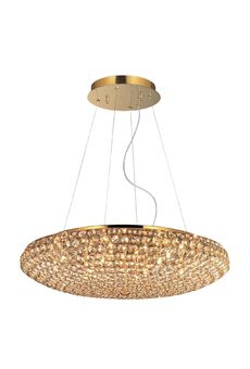 Ideal lux KING SP12 Oro - люстра подвесная